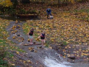 Seasonal creek.
